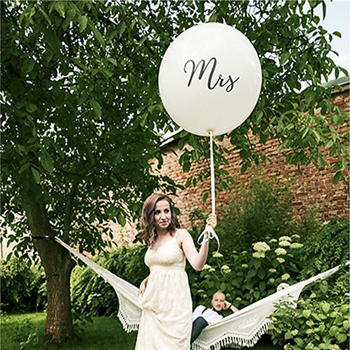 Mrs Giant Latex Balloon
