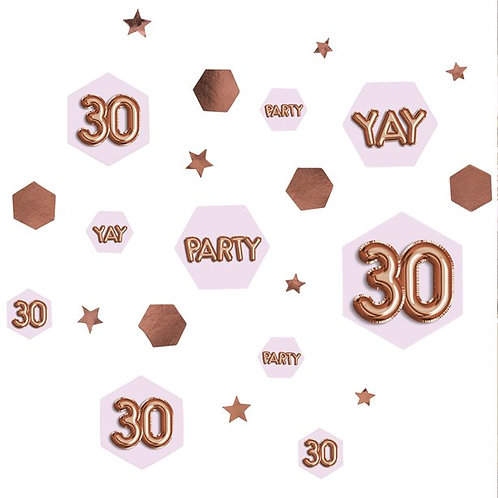 30th Birthday Glitz & Glamour Table Confetti