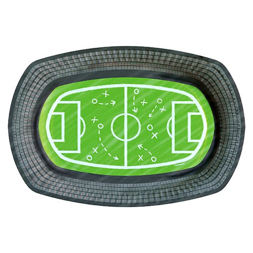 Football Kicker Party Paper Serving Trays