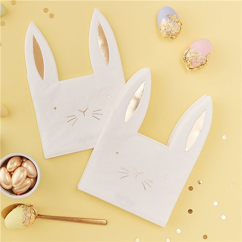 Carrot Crunch Easter Party Napkins