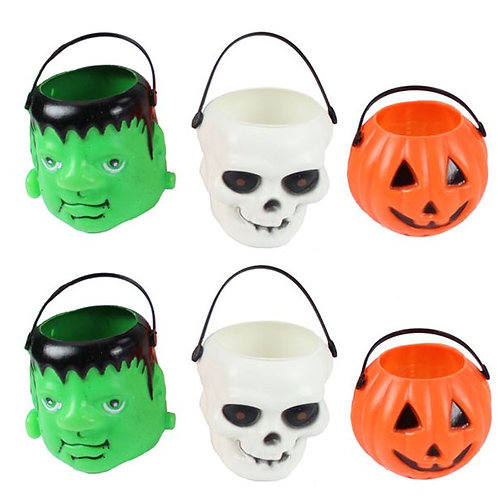 Halloween Trick or Treat Pails