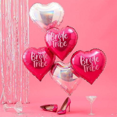 Bride Tribe Heart Party Balloons