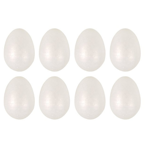 Foam Craft Eggs Pk Of 8