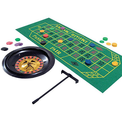 Casino Party Night Roulette Set