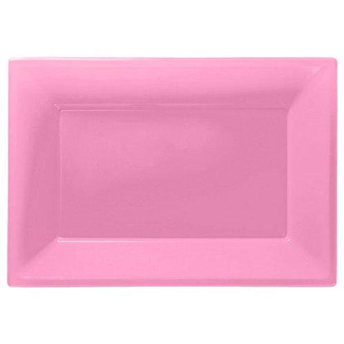 Food Serving Platter - Baby Pink