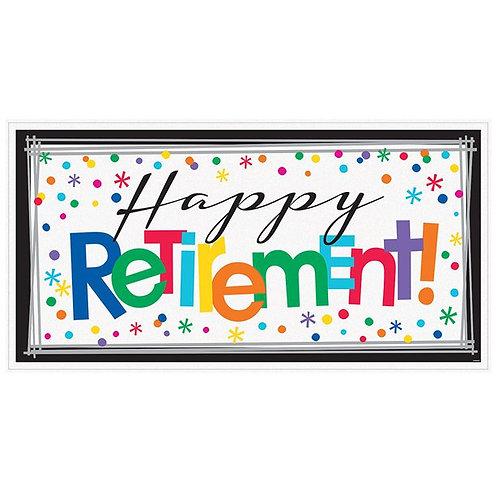 Happy Retirement Party Banner