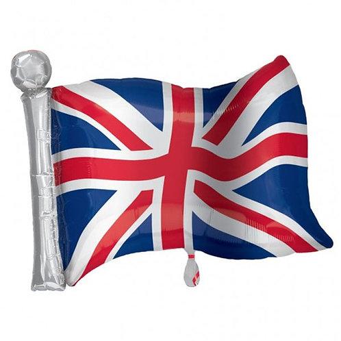 Union Jack Flag Foil Balloon