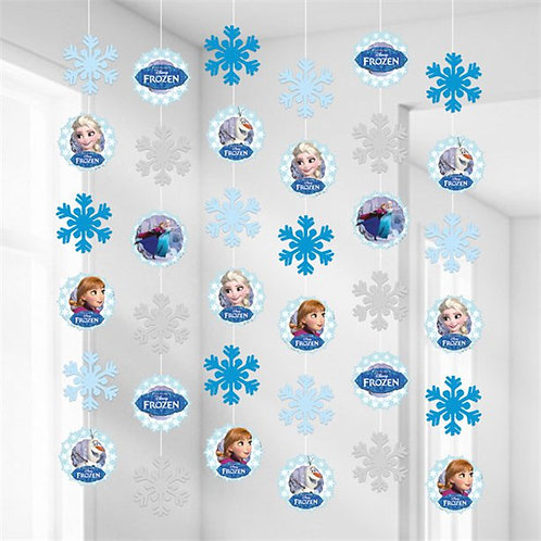 Frozen Ice Skating Hanging Decorations