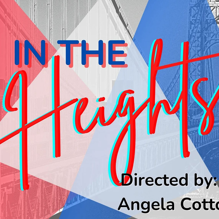 In the Heights, Sunday, October 24, 3 p.m.