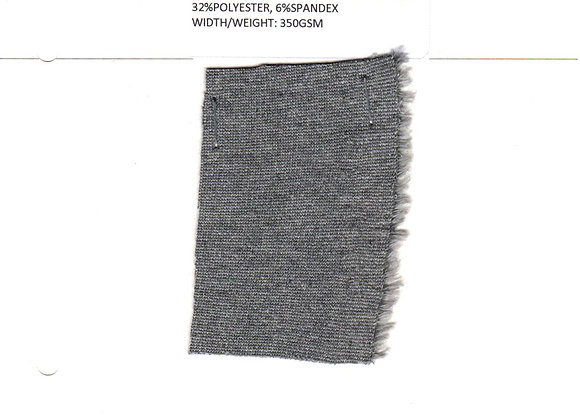 Interlock Lycra, 62% Cotton 32% Poly 6% Spandex
