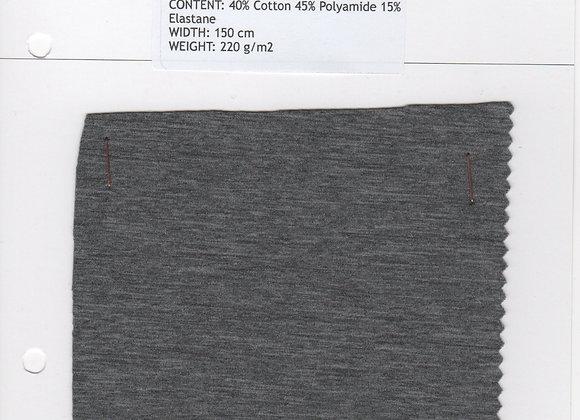 40% Cotton 45% Polyamide 15% Elastane