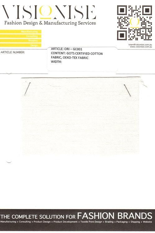 GOTS Certified Cotton OEKO-TEX