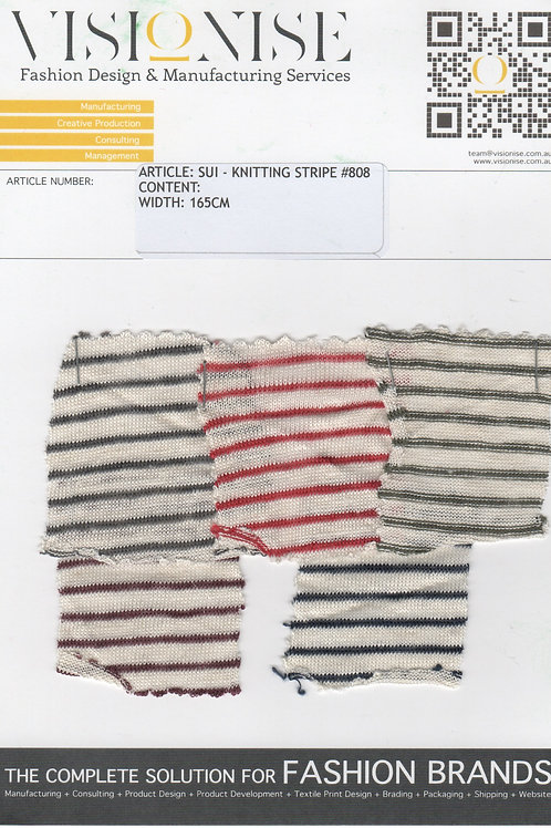 KNITTING STRIPE #808