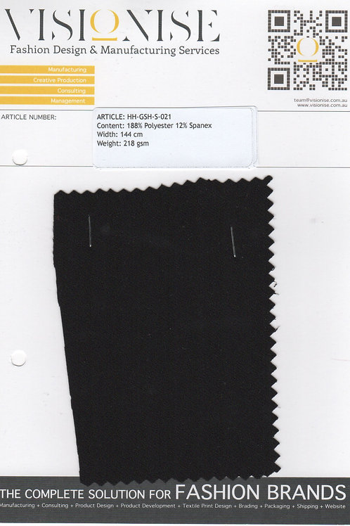 88% Polyester 12% Spandex