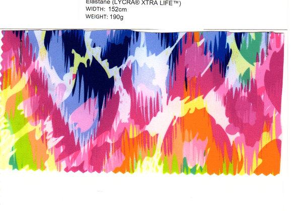 80% Polyester (micro) 20% Elastane (LYCRA® XTRA LIFE™)