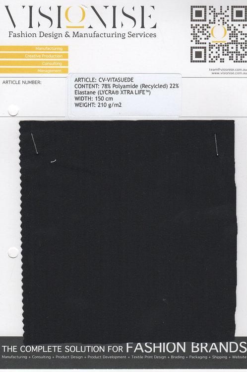 78% Polyamide (Recylcled) 22% Elastane (LYCRA® XTRA LIFE™)