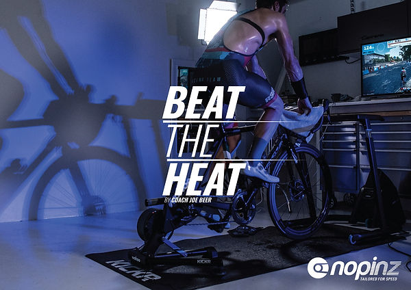 Front cover of the Beat the Heat press launch pamphlet