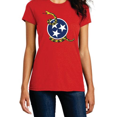 Gadsden Tri-Star T-Shirt Women's Fitted XS-4XL