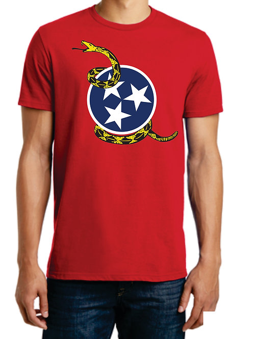 Gadsden Tri-Star T-Shirt Adult / Unisex XS-4XL