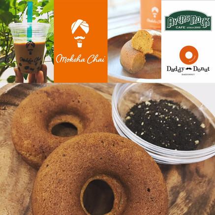 Daddy Donut/Moksha Chai