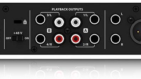 BEHRINGER Audio Interface, 4-Channel