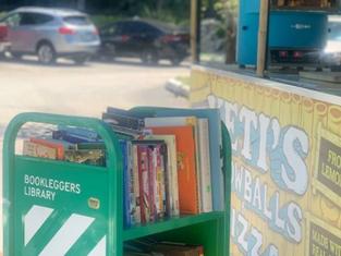 General & Kids' Book Cart