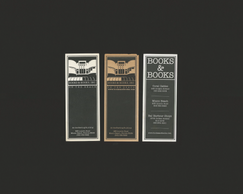 Old Books & Books Bookmarks (Recto)