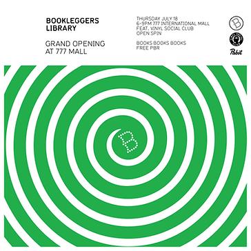 Bookleggers Grand Opening at MANA