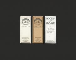 Old Books & Books Bookmarks (Verso)