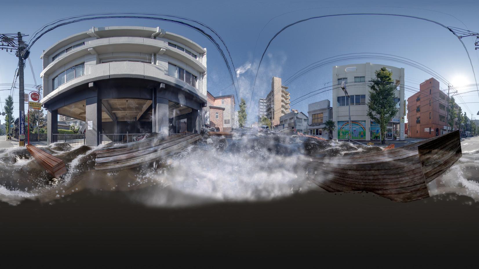 大分県防災VR