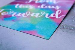 pearlised wedding stationery