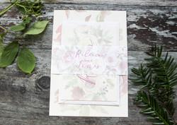 Winter wedding invitation bundle