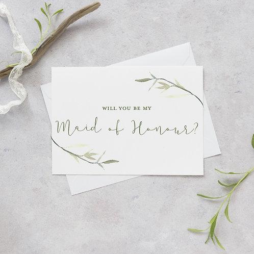 Leaf - Maid of honour