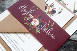 winter floral wedding bundle