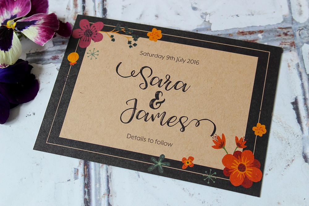unique wedding invitations west midlands