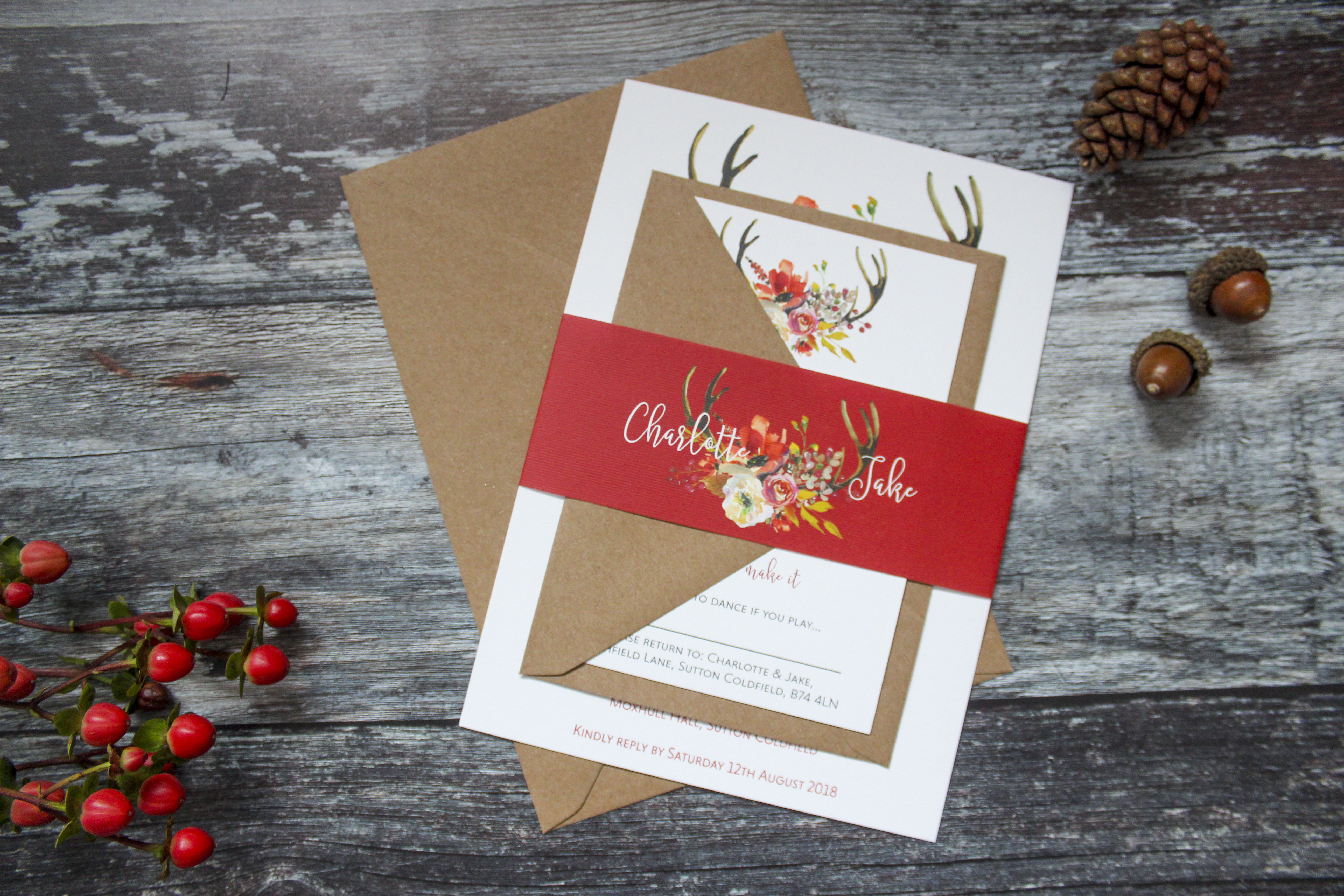 Winter, Spring, Summer and Fall... | Wedding Invitation West ...