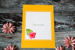 tropical beach wedding invitations