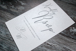 elegant wedding rsvp