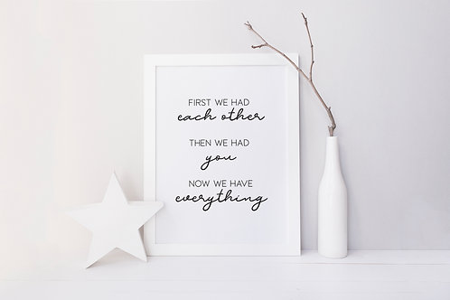 Now we have everything print