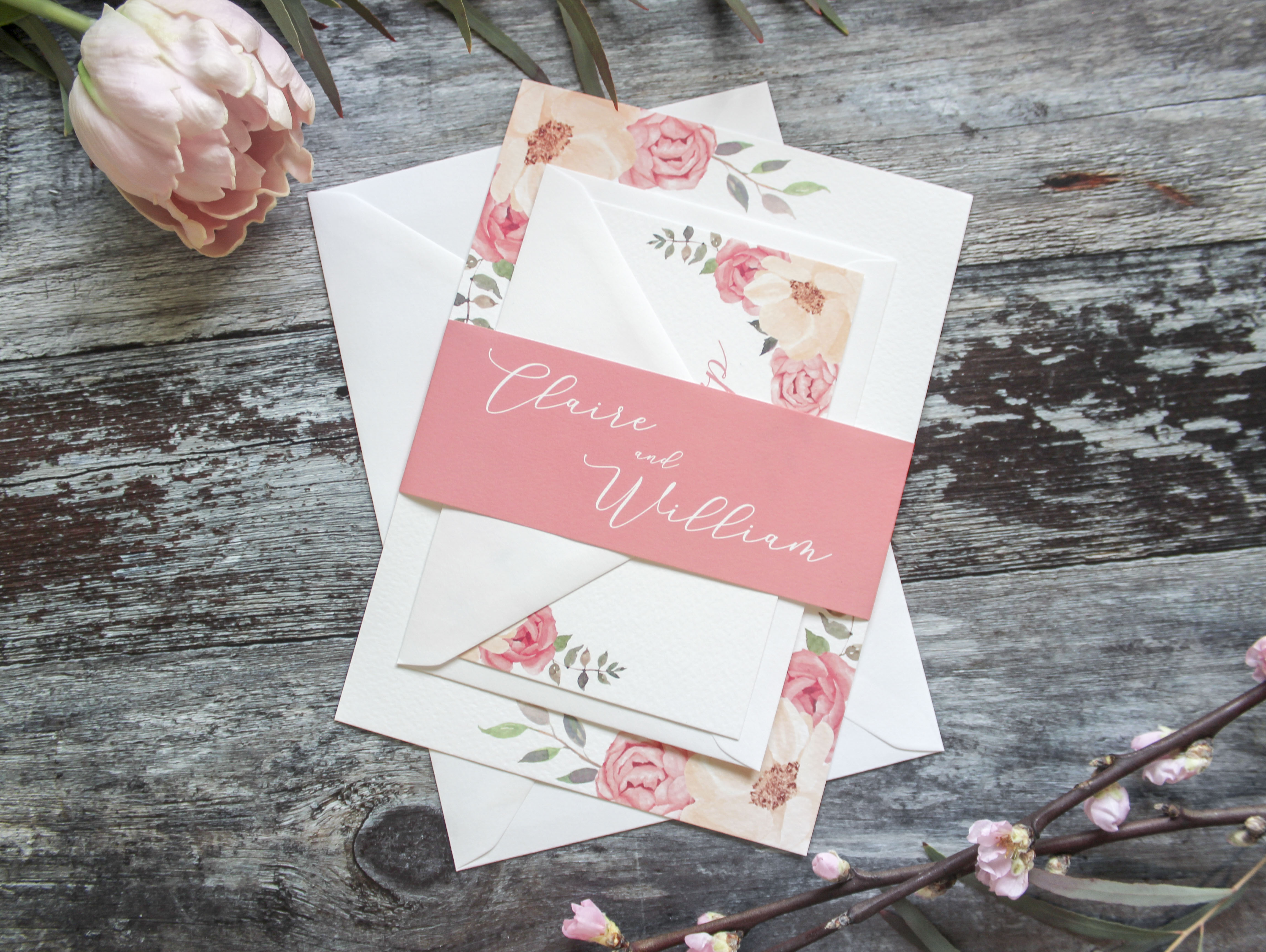 wedding invitation set west midlands
