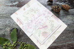 rustic wedding invitation bundle
