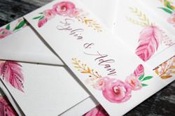 floral-boho-wedding-stationery-set
