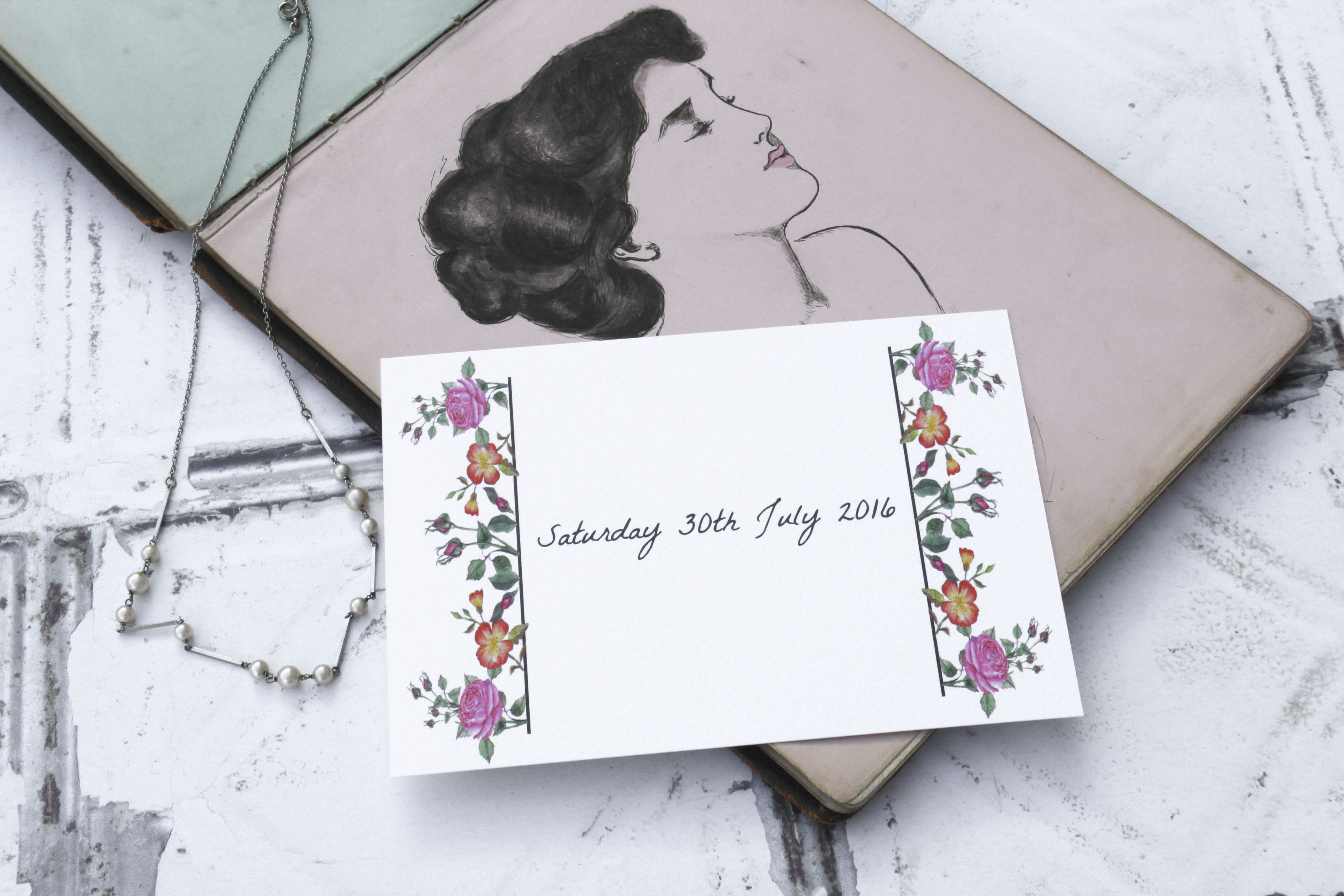 vintage-floral-save-the-date