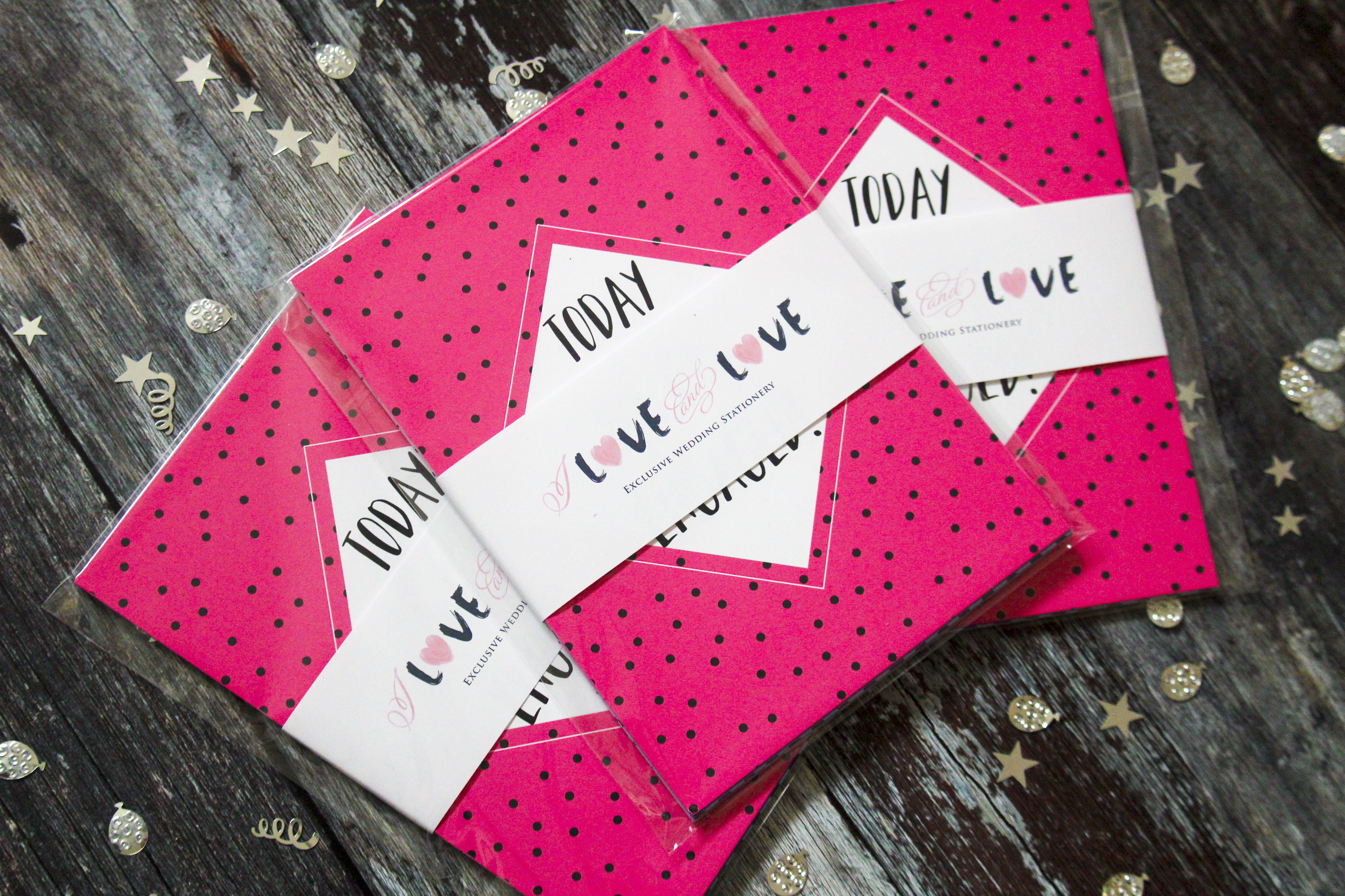 Engagment milestone cards gift