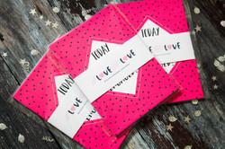 Engagment milestone cards gift