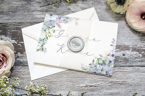 Concertina Invitation bundle - Blossom