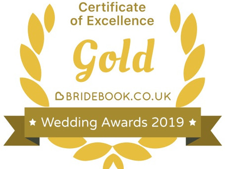We've won a Gold award!
