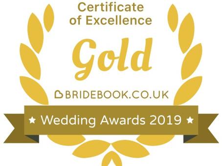 We've won a Gold award!