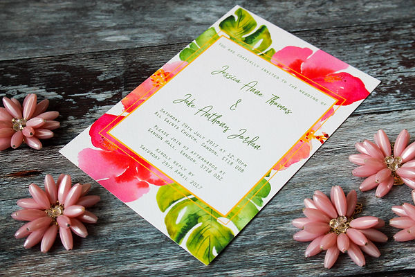 wedding invitation birmingham