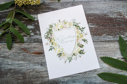 botanical wedding rsvp